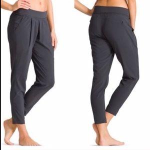 Athleta Interlude Ankle Pant In Dark Grey